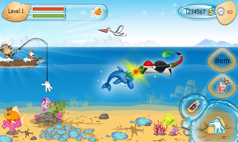 Funny Fishing - screenshot