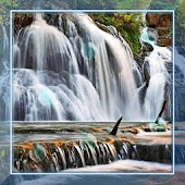 Waterfall HD Photo Top LWP