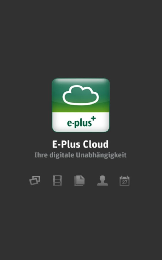 E-Plus Cloud - screenshot