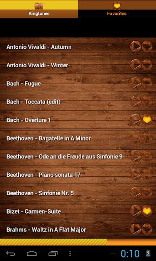 Sonneries de musique classique
