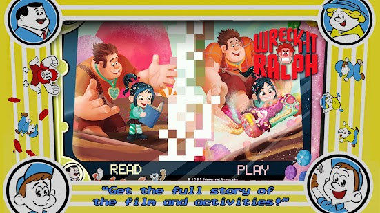 Wreck-It Ralph Storybook- screenshot thumbnail