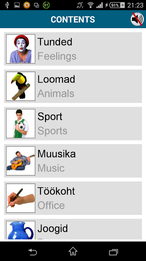Learn Estonian - 50 languages- screenshot