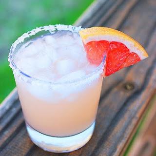 Sparkling Grapefruit Cocktail.