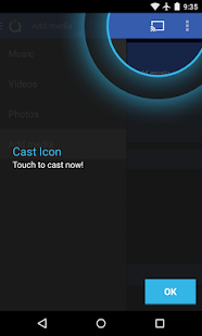 Avia Media Player (Chromecast) - screenshot thumbnail