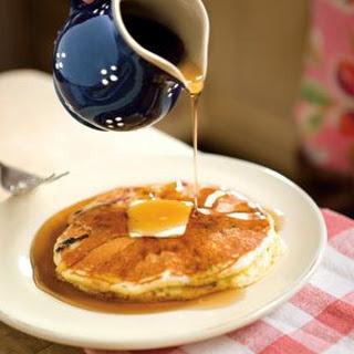 Stacks of Blueberry Pancakes