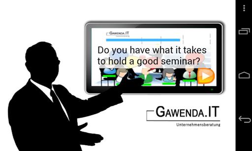Seminar Gamer