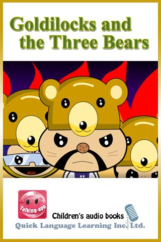 Goldilocks and the Three Bears- screenshot
