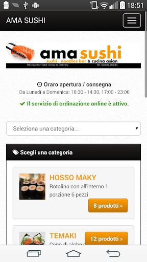 Ama Sushi Genova