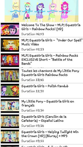 New Girl Pony Videos List