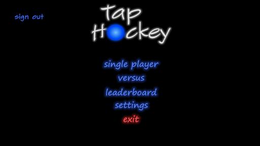 Tap Hockey