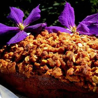 Banana Bread with Oat-Streusel Topping.