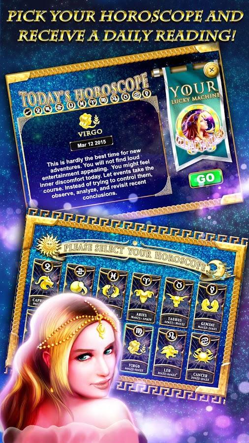 Horoscope slot machine