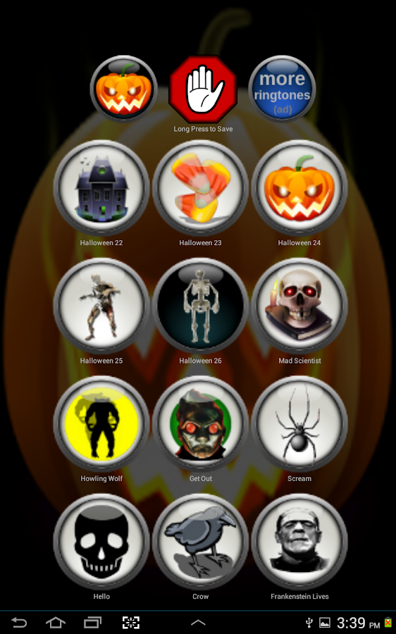 Free Scary Halloween Ringtones - screenshot
