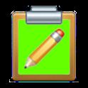 Clipboard + programs icon