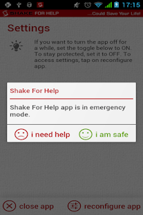 Shake for Help - screenshot thumbnail