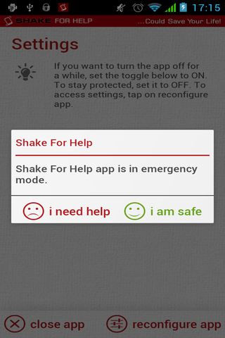 Shake for Help – Stop Bullying - screenshot