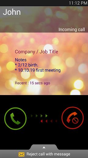 Call Info Viewer Caller Memo