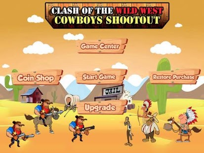 Clash of West Cowboys Shootout