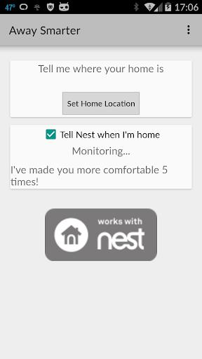 Away Smarter for Nest