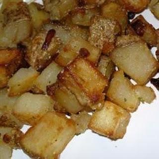Mom's Brown Potatoes