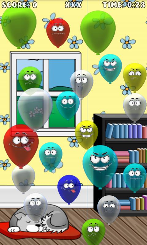 Bad Balloons - Aliens Pop Free- screenshot
