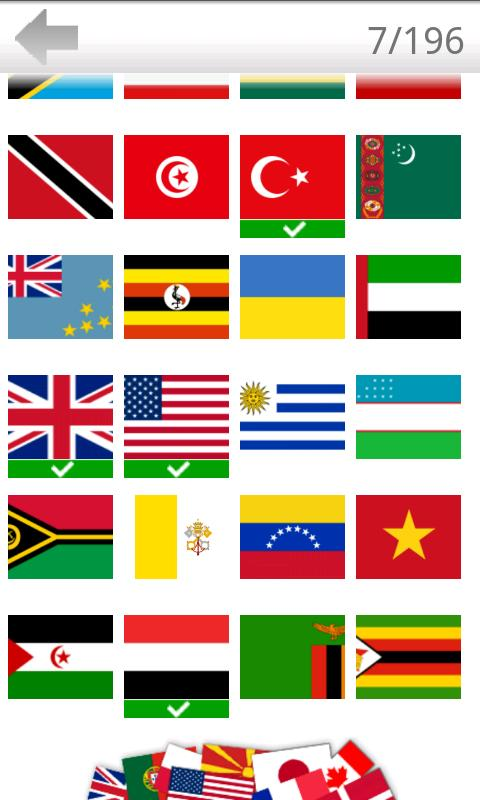 Logo Quiz - World Flags- screenshot