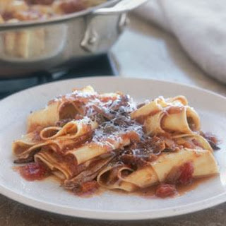 Pappardelle with Pork Ragù.