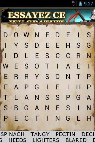 GramaMix english word search - screenshot