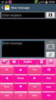 Screenshot of Pink Keyboard S4