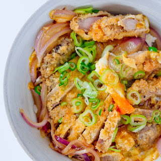 Katsudon (pork Cutlet Rice Bowl).
