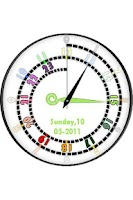Screenshot of HourColor-Spiral