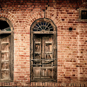 An Old Window by Zeeshan Khan - Buildings & Architecture Architectural Detail (  )