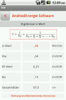 Screenshot of U-Wert