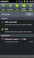 Screenshot of Hailstorm watch