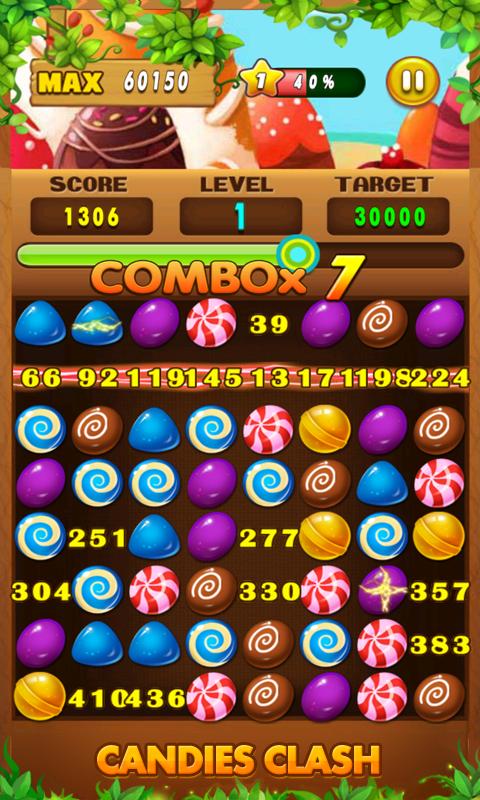 Candies Clash - screenshot