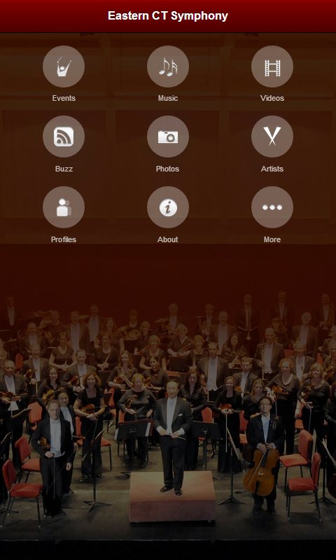 Eastern Connecticut Symphony- screenshot
