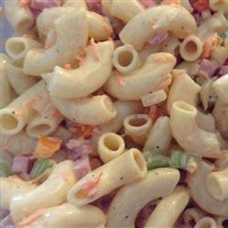 Macaroni Salad with a Twist.