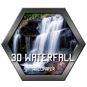 3D Waterfall Wallpaper