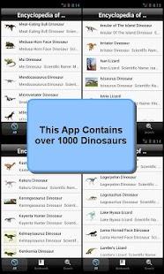 玩教育App|The Dinosaurs Encyclopedia免費|APP試玩