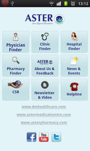 Aster from D M Healthcare