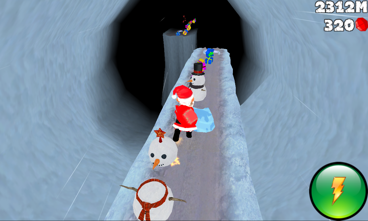 Cave Run 3D - screenshot