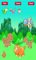 Screenshot of Dinosaur Puzzle for Toddlers