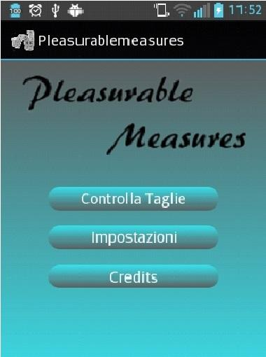 Pleasurable Measures