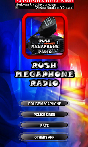 Rush Police Megaphone Sounds