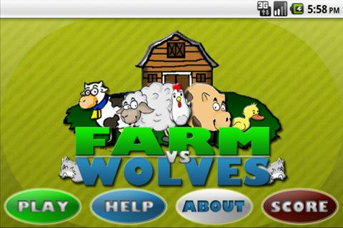 Farm Vs Wolves: captura de pantalla