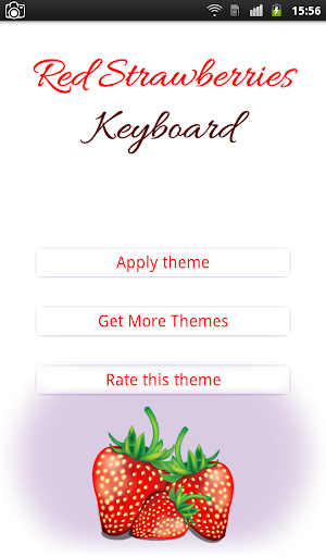 Red Strawberries Keyboard