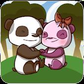 Panda Love Animated Wallpaper