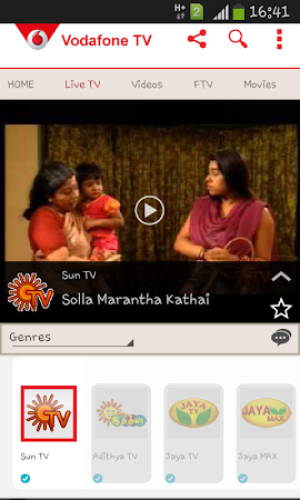 Vodafone Mobile TV Live TV 30 screenshot 296273