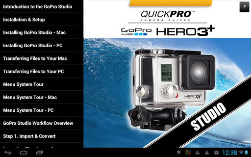 Gopro studio guide app app for How to use gopro studio templates