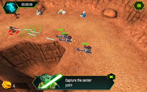 LEGO.com Star Wars Games - Web Games - Empire Vs. Rebels